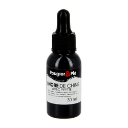 Flacon d'encre de Chine 30 ml R&P + pipette