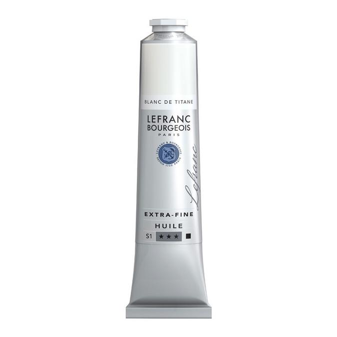 Peinture à l'huile extra-fine LB 200 ml Blanc de titane