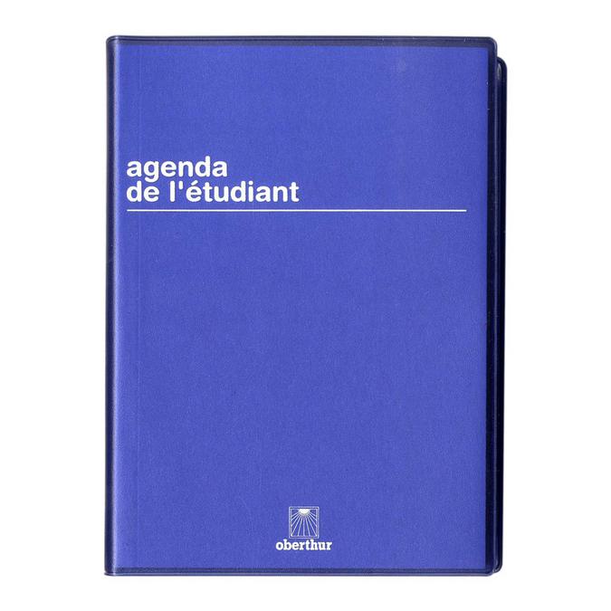 Agenda scolaire 2017-18 journalier 12 x 17 cm Boreal