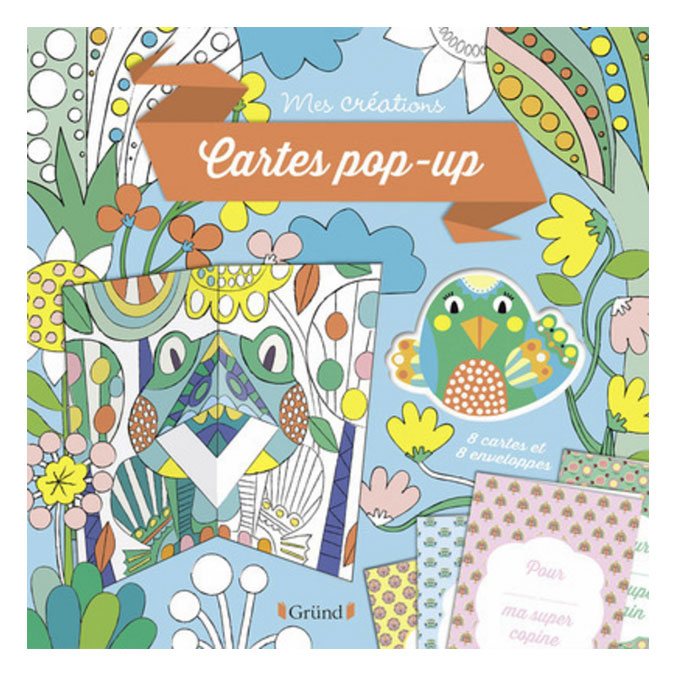 Pochette Mes créations : Carte pop-up
