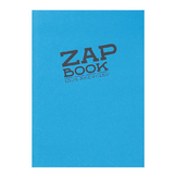 Bloc papier Zap Book collé grand côté 160 feuilles 80g/m² A5 Assortiment 2
