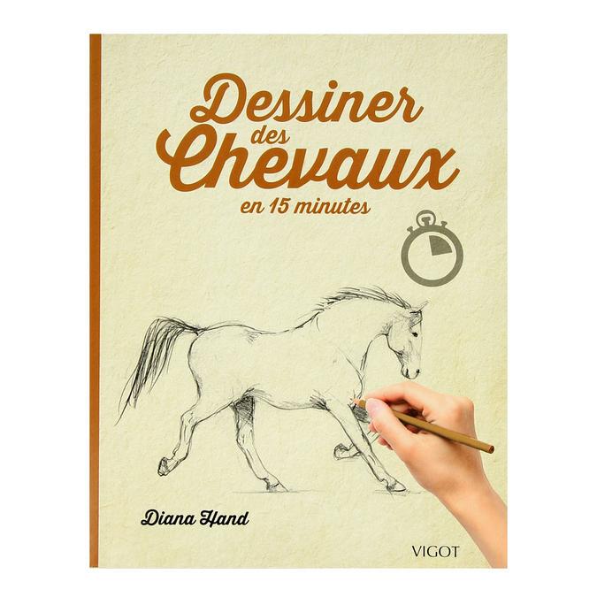 Livre Dessiner des chevaux en 15 minutes