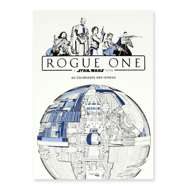 Livre Star Wars Rogue One 60 coloriages anti-stress