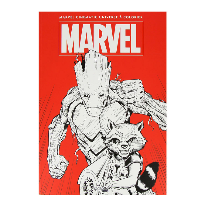 Livre Grand coloriage Marvel - Tome 2