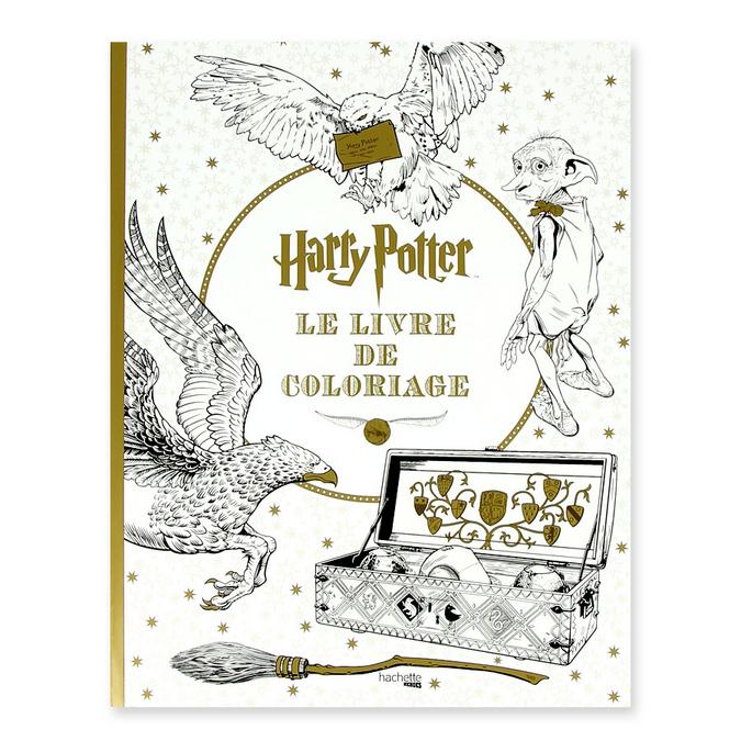 Livre Harry Potter Le livre de coloriage