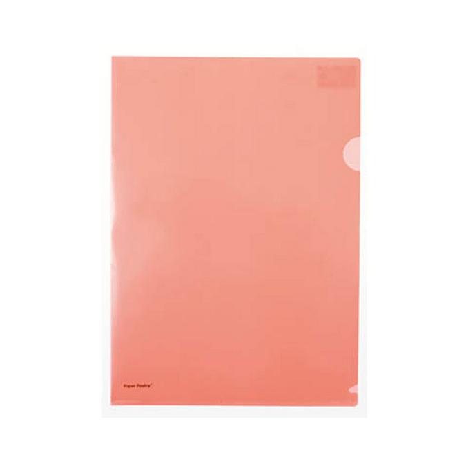 Chemise orange fluo 22 x 31 cm
