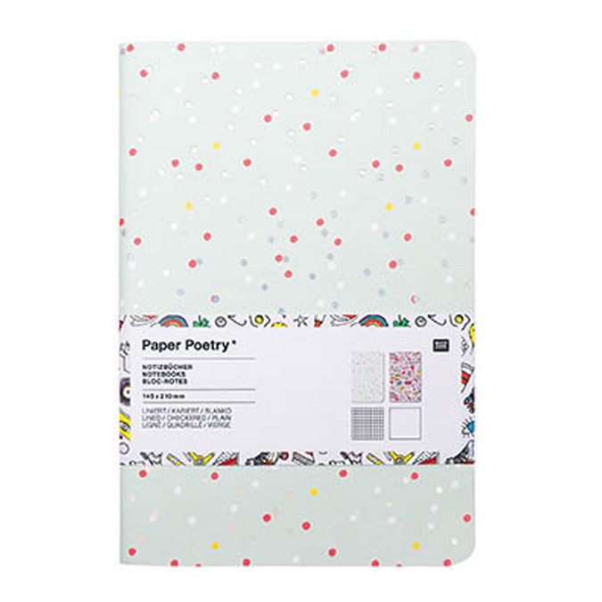 Bloc notes Magical Summer A5 x 2 pcs