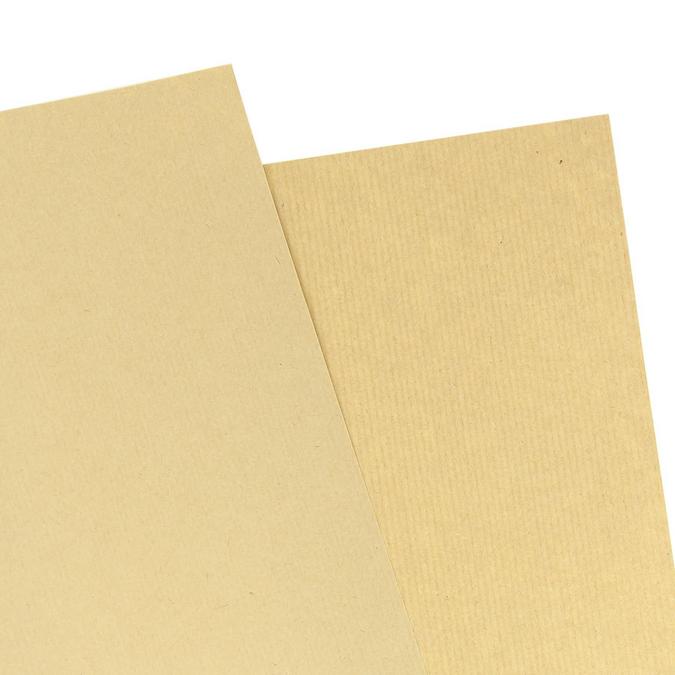 Feuille de Kraft brun 50 x 70 cm 120 g/m² Vergé