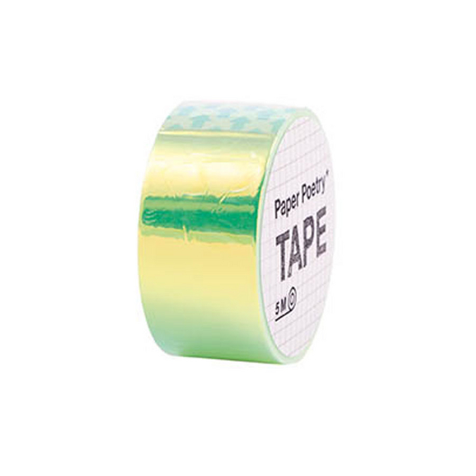 Masking Tape miroir Magical Summer Vert x 5 m