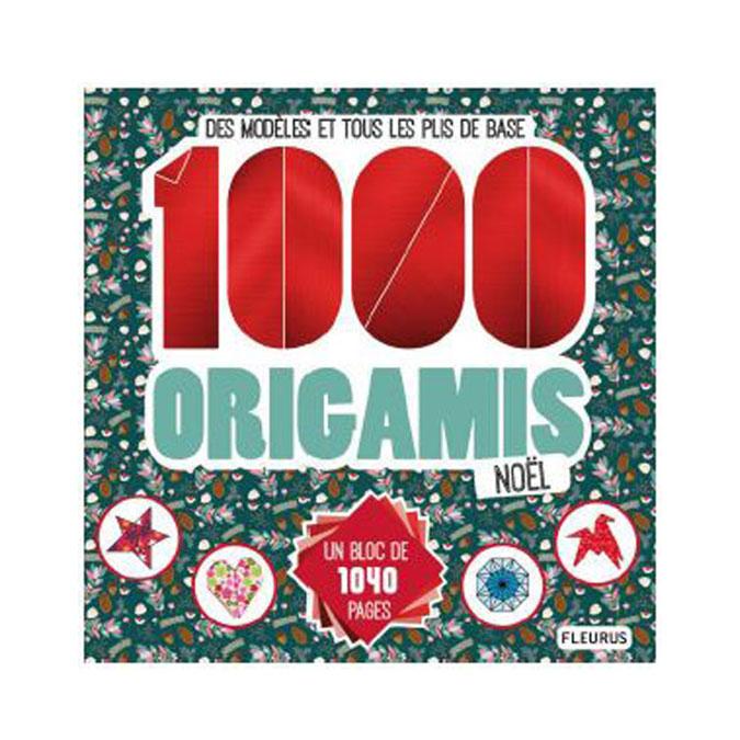 Livre 1000 origamis de noël
