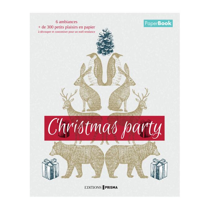 Livre Christmas Party Mon livre de noël