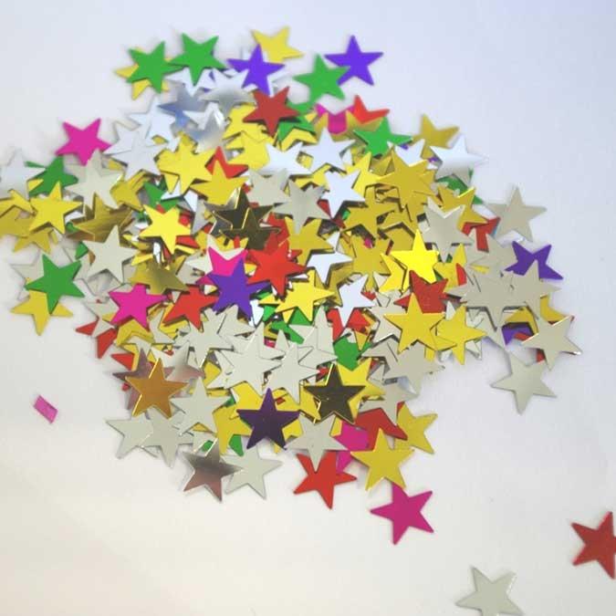 Strass en forme d'étoile - 50 g