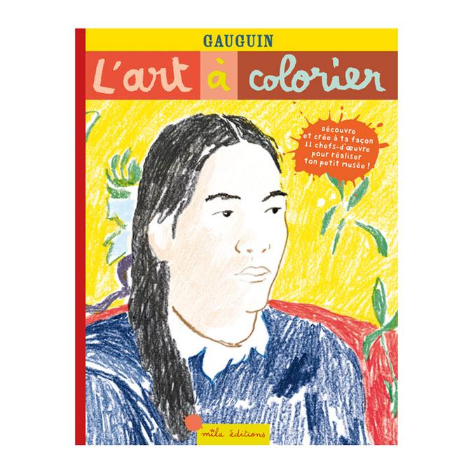 Livre Gauguin L'art à colorier