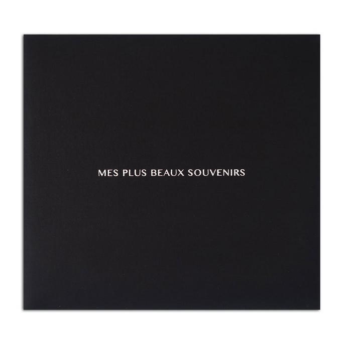 Album noir Mes plus beau souvenirs 30,5 x 30,5 cm