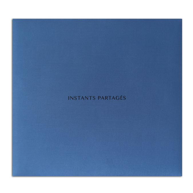 Album Bleu Instants partagés 30,5 x 30,5 cm