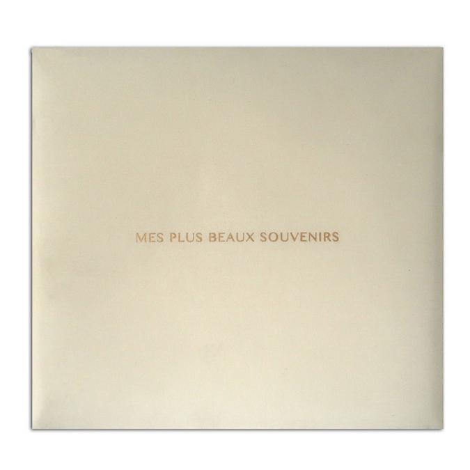Album ivoire Mes plus beau souvenirs 30,5 x 30,5 cm