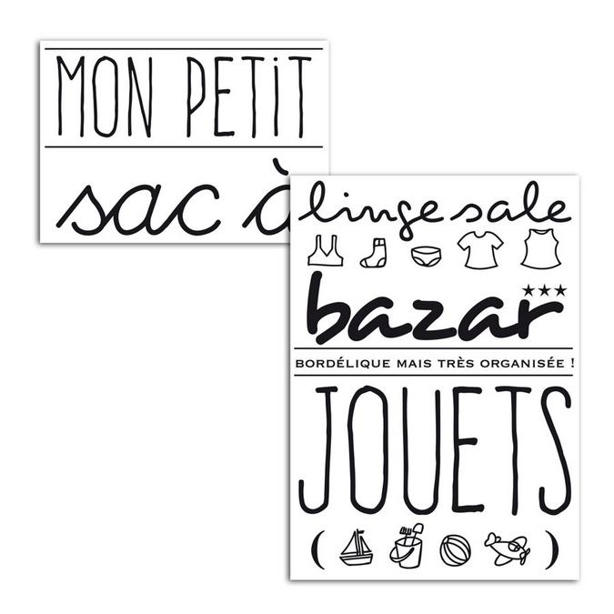 Motif thermocollant Mon petit sac A5
