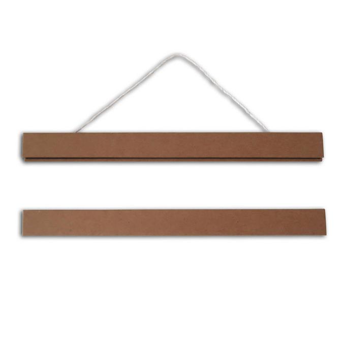 Baguettes magnétiques pour affiches 21 cm