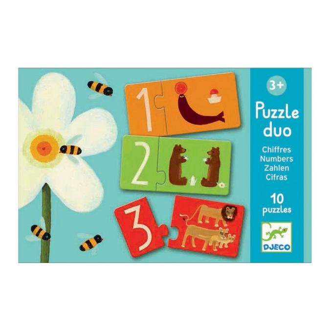 Puzzle duo Les Chiffres
