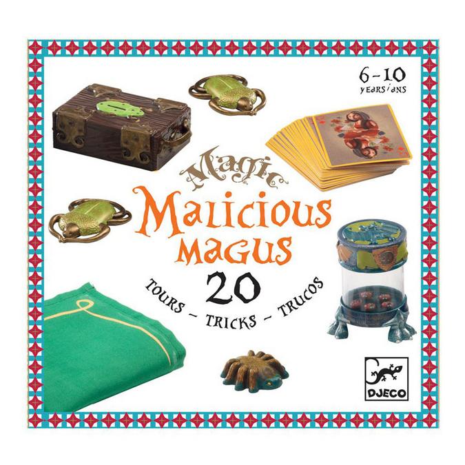 Malicious Magus Coffret de 20 tours de magie