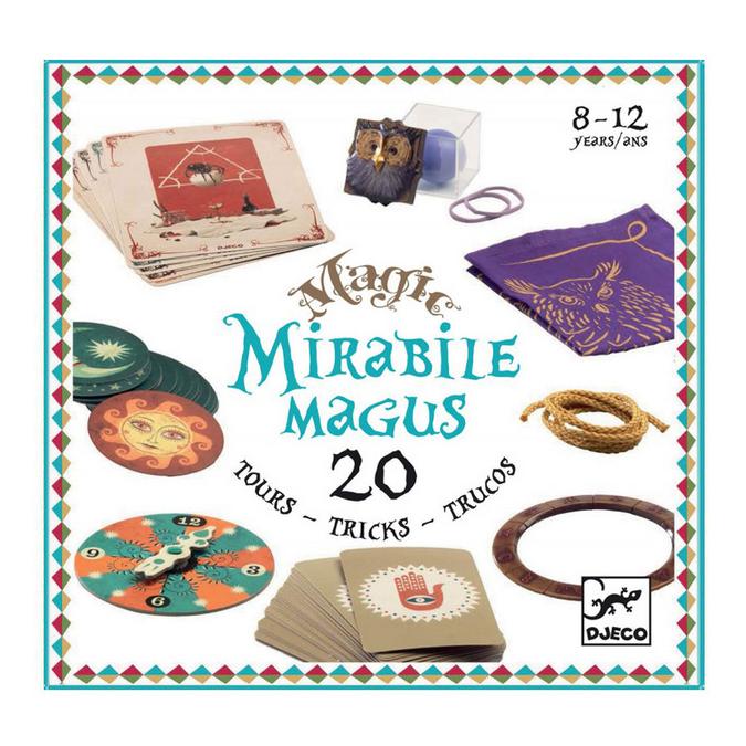 Mirabile Magus Coffret de 20 tours de magie