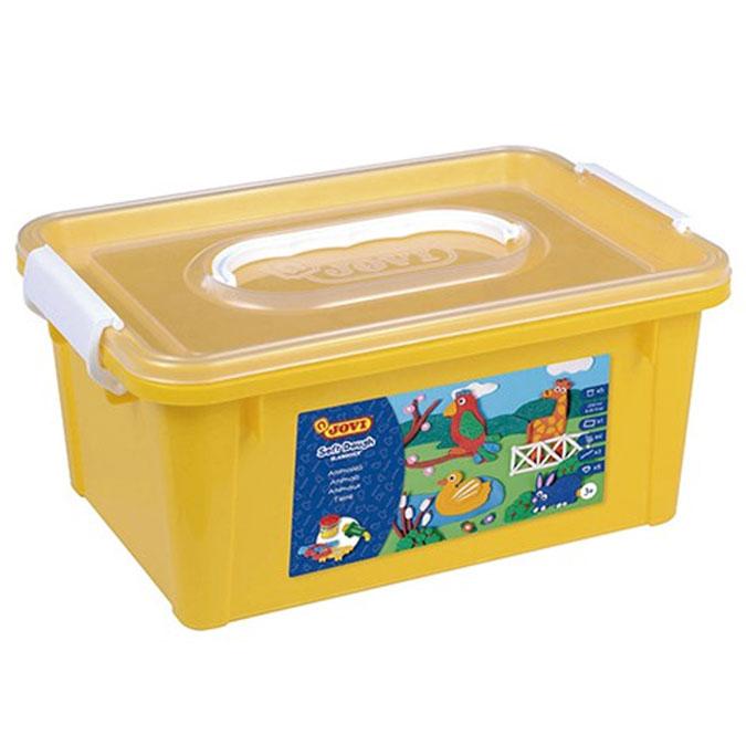 Pâte à modeler Blandiver Kit Animaux 5 pots de 50 g