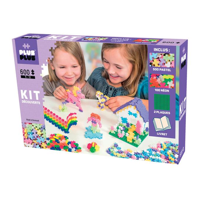 Jeu de construction Mini Mix - Kit découverte - 600 pcs