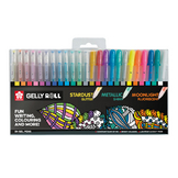 Stylo gel Gelly Roll étui 24 couleurs