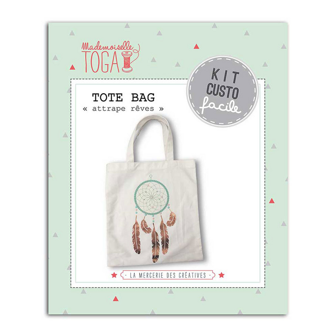 Kit Custo facile - Confection Sac Tote Bag attrape-rêve
