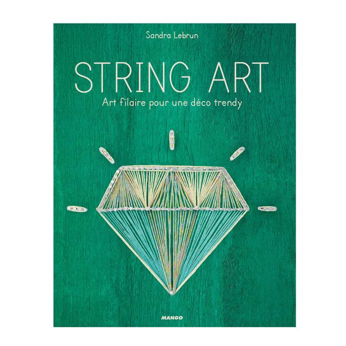 Livre String Art art filaire pour une déco trendy