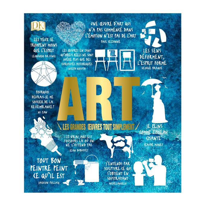 Livre Art les grandes œuvres tout simplement