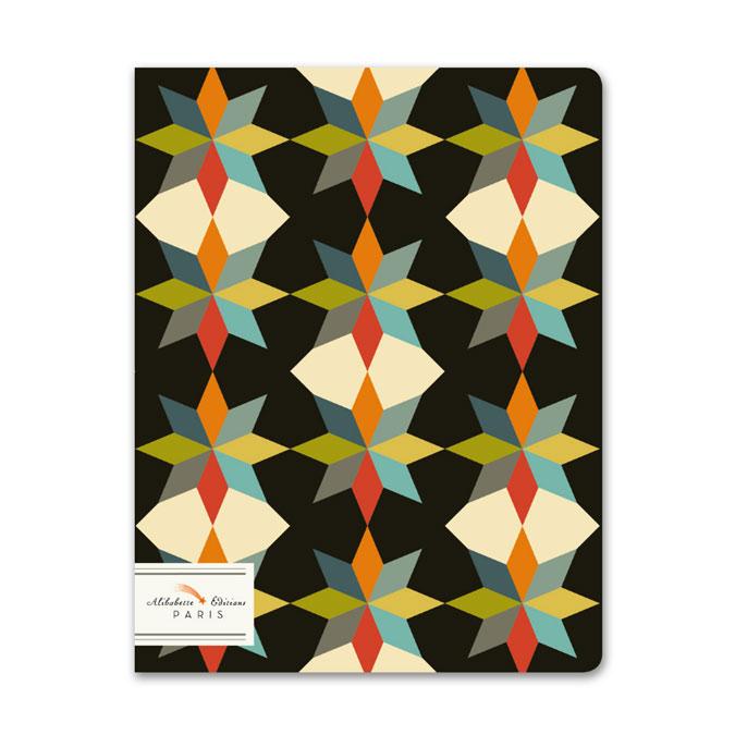 Carnet ligné 17 x 22 cm Origami