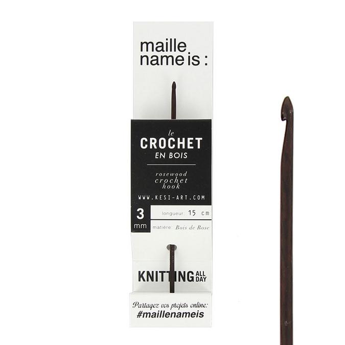 Crochet en bois 3 mm