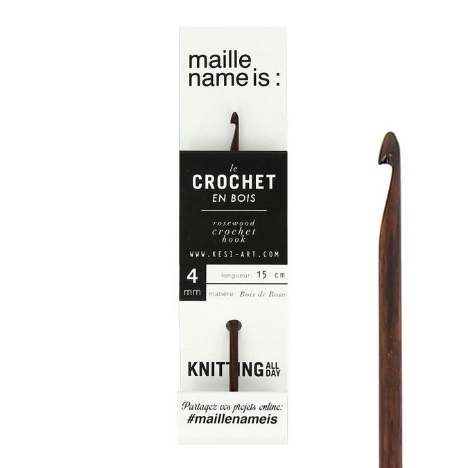 Crochet en bois 4 mm