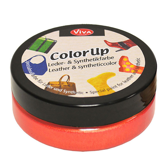 Peinture pour cuir et matières synthétiques Color Up 50 ml Coraïl