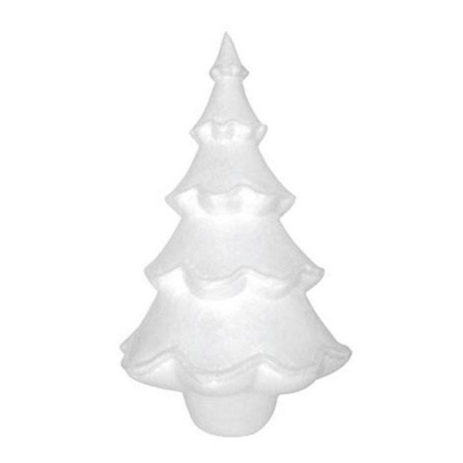 Sapin en polystyrène H. 31 cm