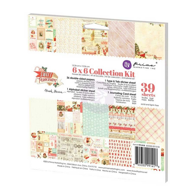Collection Kit Sweet Peppermint 15 x 15 cm