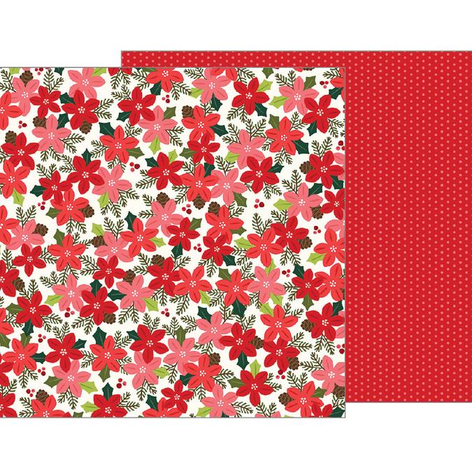 Papier Merry Merry Poinsettia Blossoms 30 x 30 cm