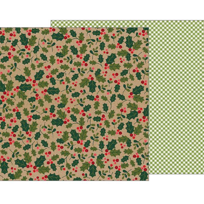 Papier Merry Merry Holly Berries 30 x 30 cm