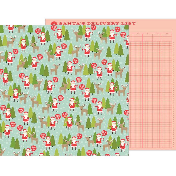 Papier Merry Merry North Pole 30 x 30 cm