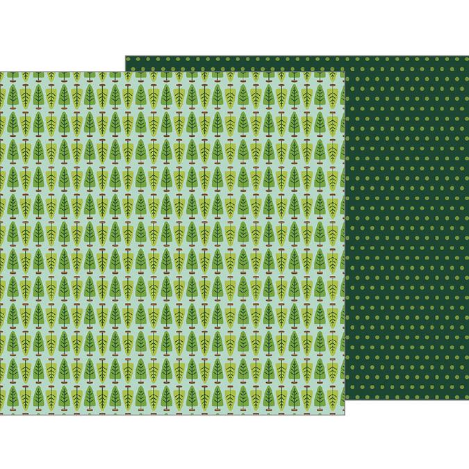 Papier Merry Merry Fresh Cut Pines 30 x 30 cm