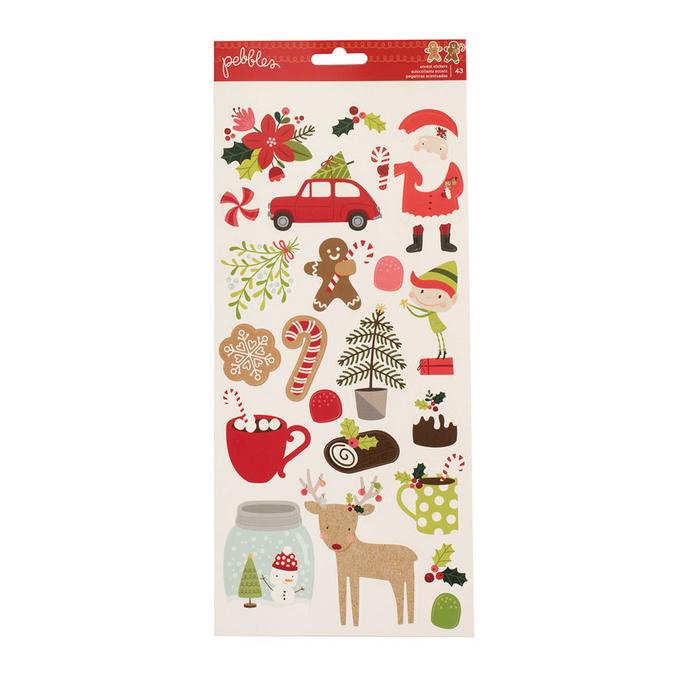 Stickers Merry Merry x 43 pcs