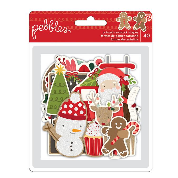 Découpe en papier Merry Merry x 40 pcs