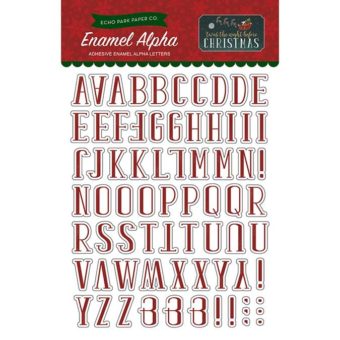 Alphabet Twas The Night Before Christmas