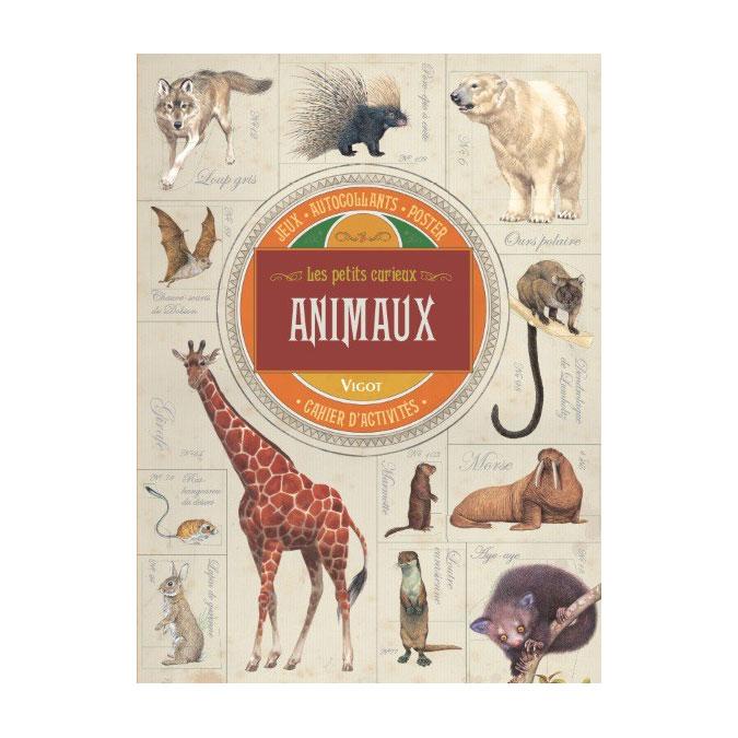 Cahier d'activités Les petits curieux Animaux