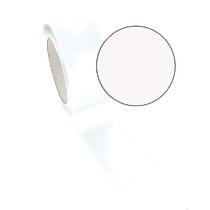 Ruban adhésif décoratif Queen Tape 48 mm x 8 m Blanc uni
