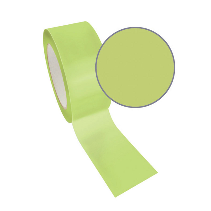 Ruban adhésif décoratif Queen Tape 48 mm x 8 m Vert uni