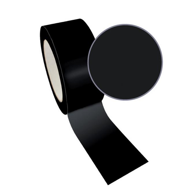 Ruban adhésif décoratif Queen Tape 48 mm x 8 m Noir uni