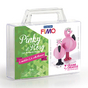 Kit figurine FIMO Pinky et Rosy
