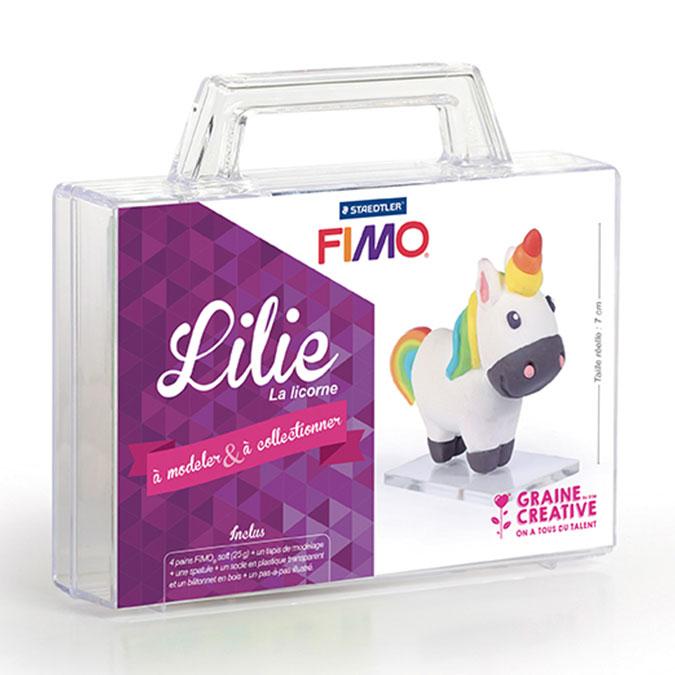 Kit figurine FIMO Lillie la licorne